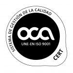 Logo certiticación ISO 9001 150x150 1 - Curso de Carretillero