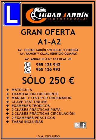 Oferta A1 A2 250€ 1 - Ofertas